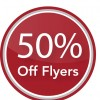 Last day to claim your half price flyers voucher!