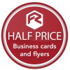 Half price flyers, folded leaflets and business cards in February!