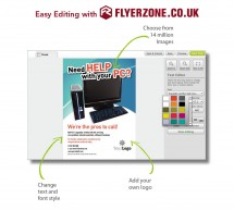 IT specialists – get your flyers quickly and easily with Flyerzone!