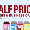 Celebrate Small Business Saturday with Half Price Flyers and Business Cards!