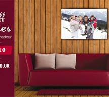 £10 off all Premium Canvases