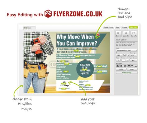 Personalise Home Maintenance Flyers and Leaflets - Flyerzone