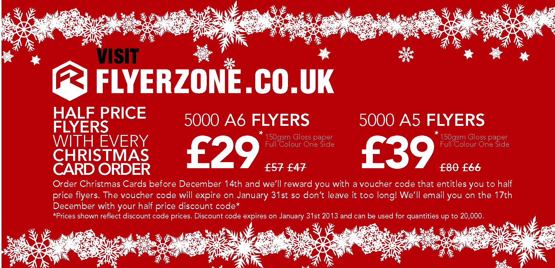 half price flyers every christmas card order flyerzone 0