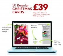 Half Price Flyers With every Christmas Card Order
