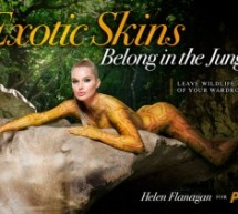 Former soap star's PETA poster makes waves – as does the unveiling