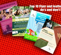 Top 10 Flyer Design Do's and Dont's