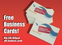 Free business cards!