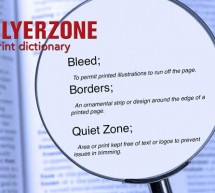 Printing dictionary – Bleed & Borders & Quiet Zone
