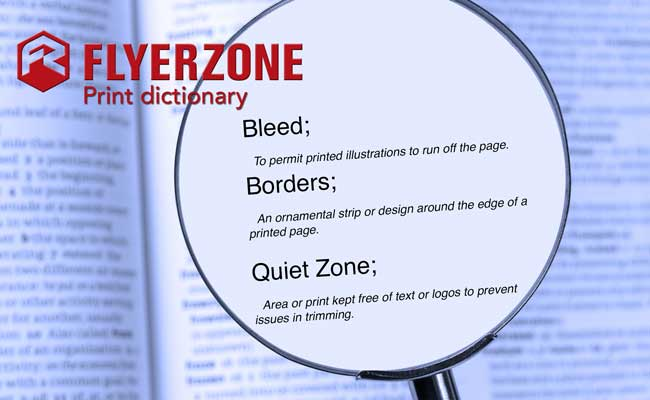 Bleed, Borders & Quiet Zone